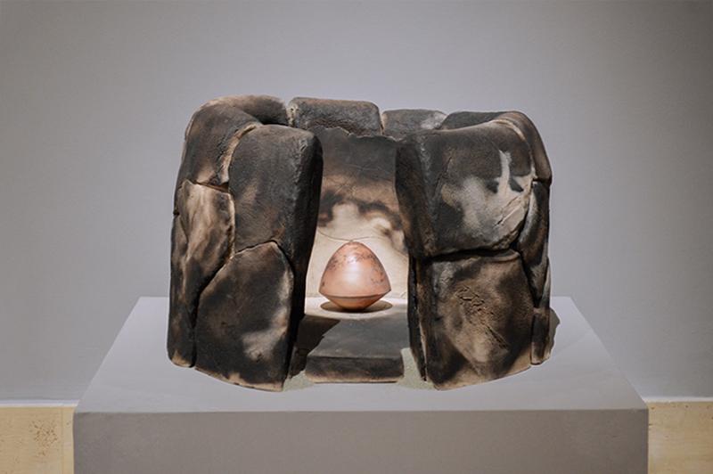scultura ceramica contemporanea in italia